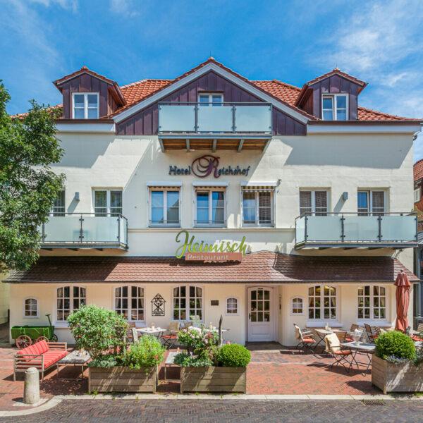 Romantik Hotel Reichshof Norde Außen