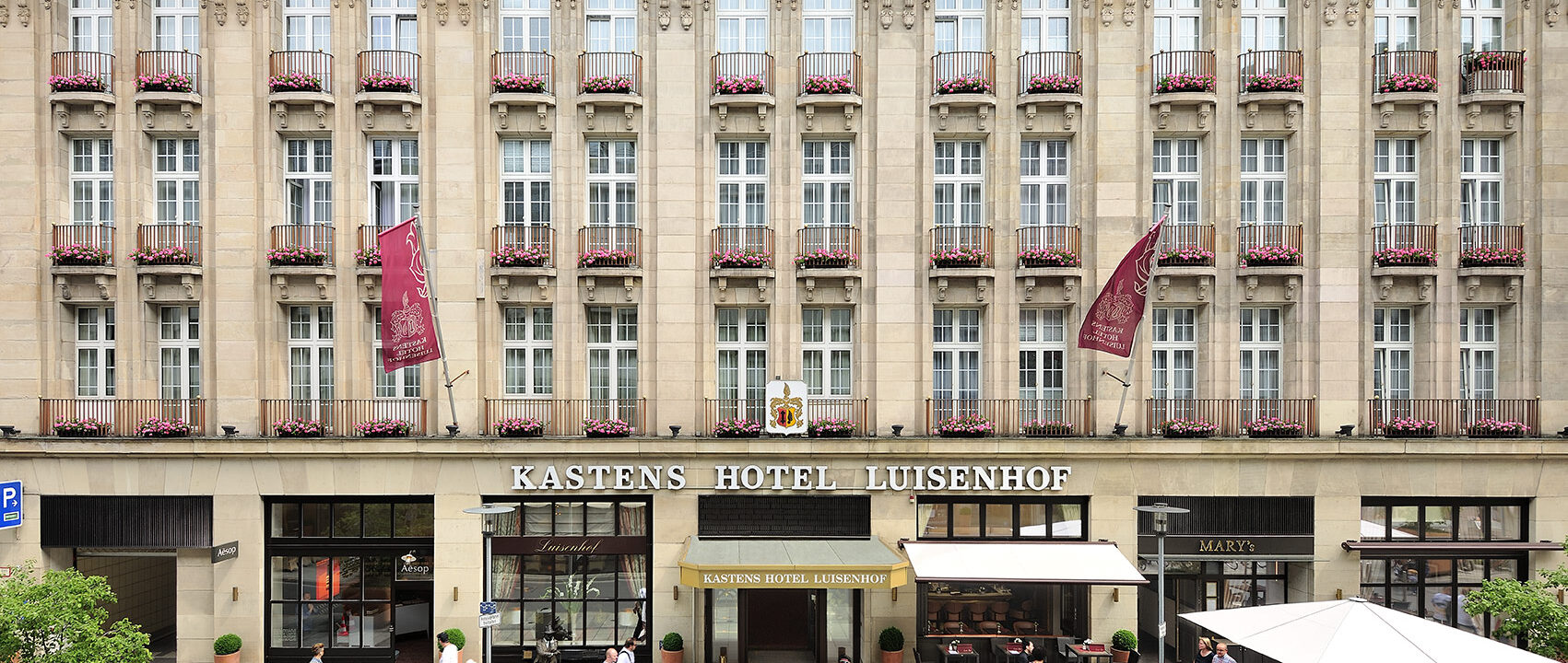 Kastens Hotel Luisenhof Außenansicht