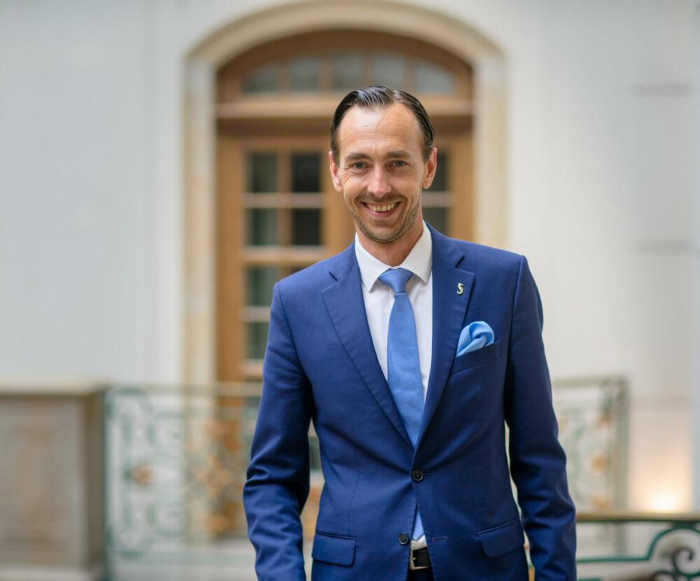 Florian Leisentritt, Hoteldirektor, Gewandhaus Dresden