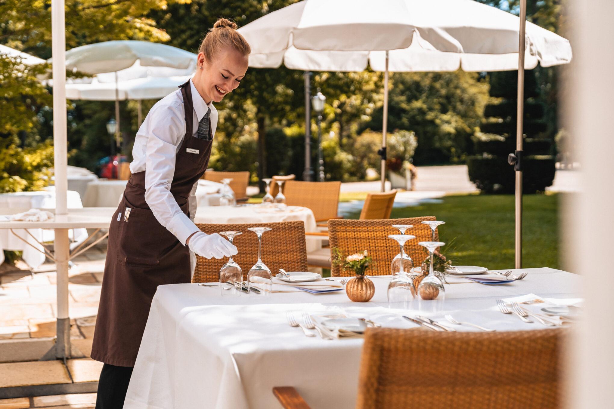 Wald & Schlosshotel Friedrichsruhe Service