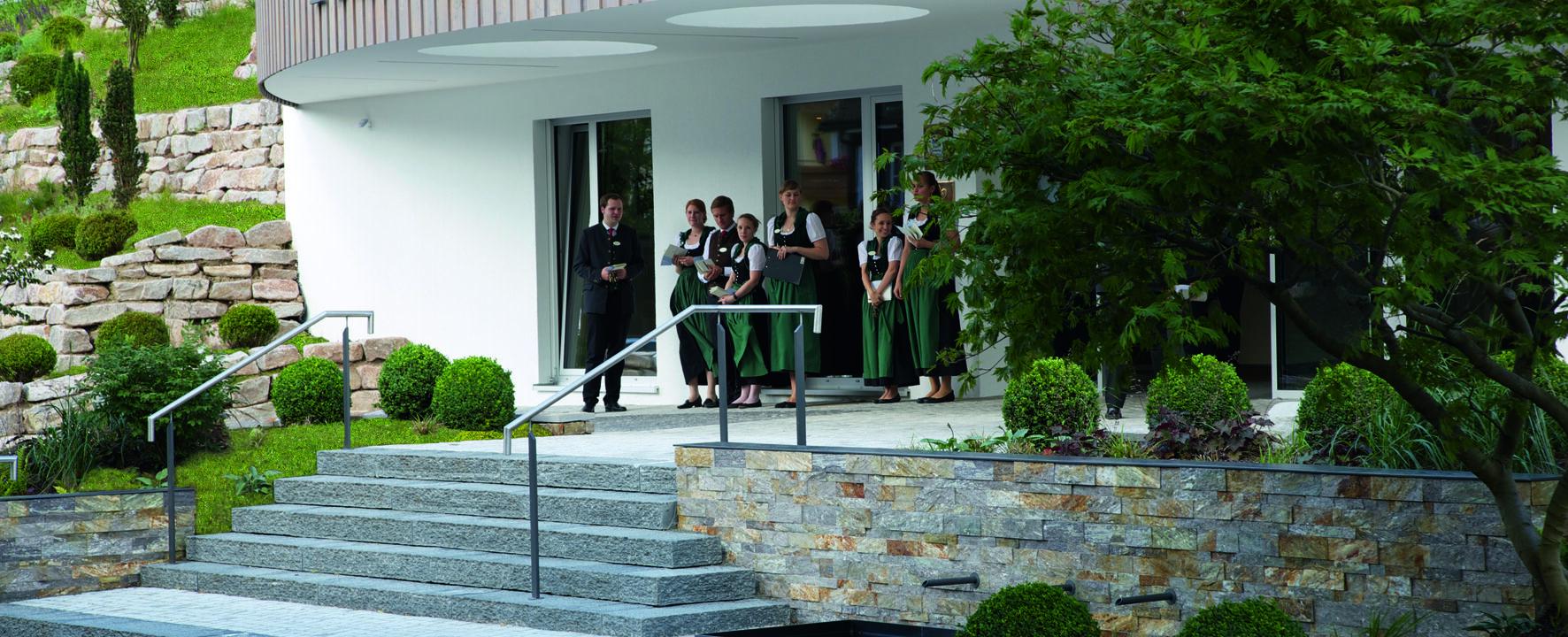 Hotel Traube Tonbach Außenansicht