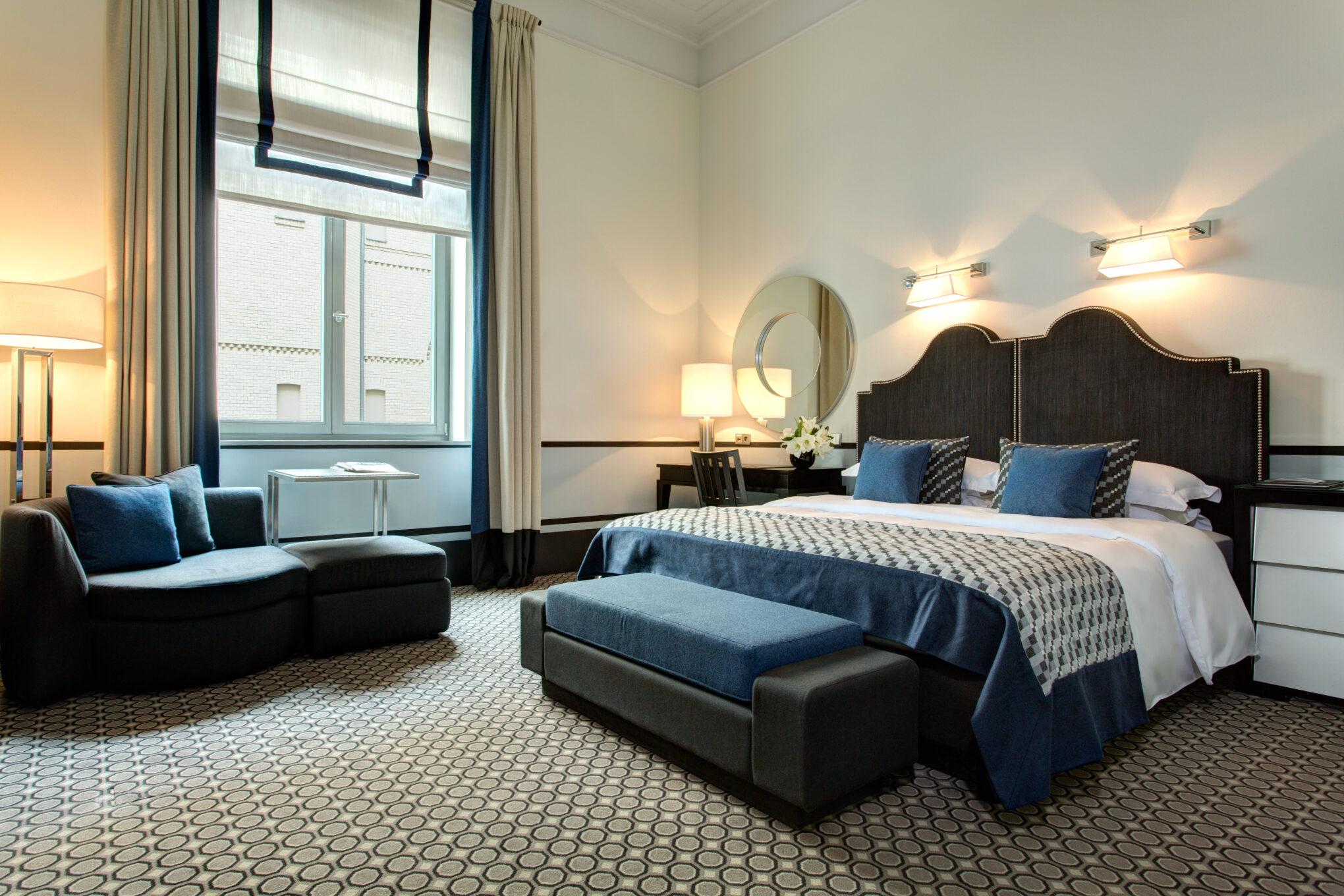 Hotel de Rome Schlafzimmer im Classic Room