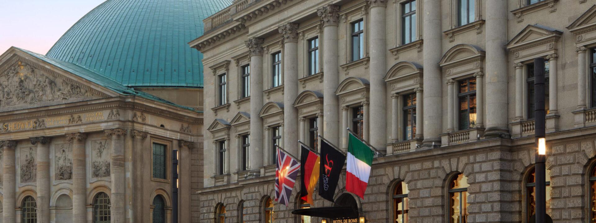 Hotel de Rome Fassade