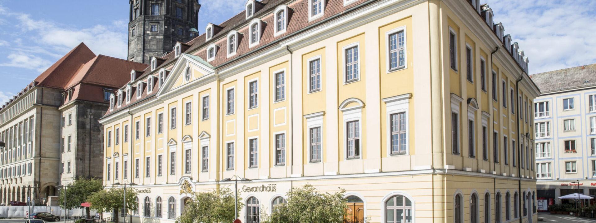 Gewandhaus Dresden Außenansicht