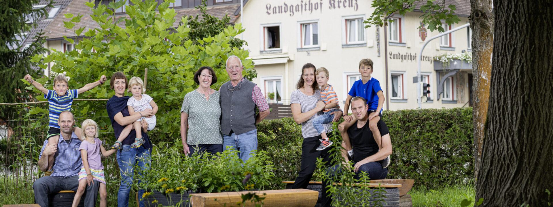 Rommel Gastronomie Familie ©Edmund Möhrle