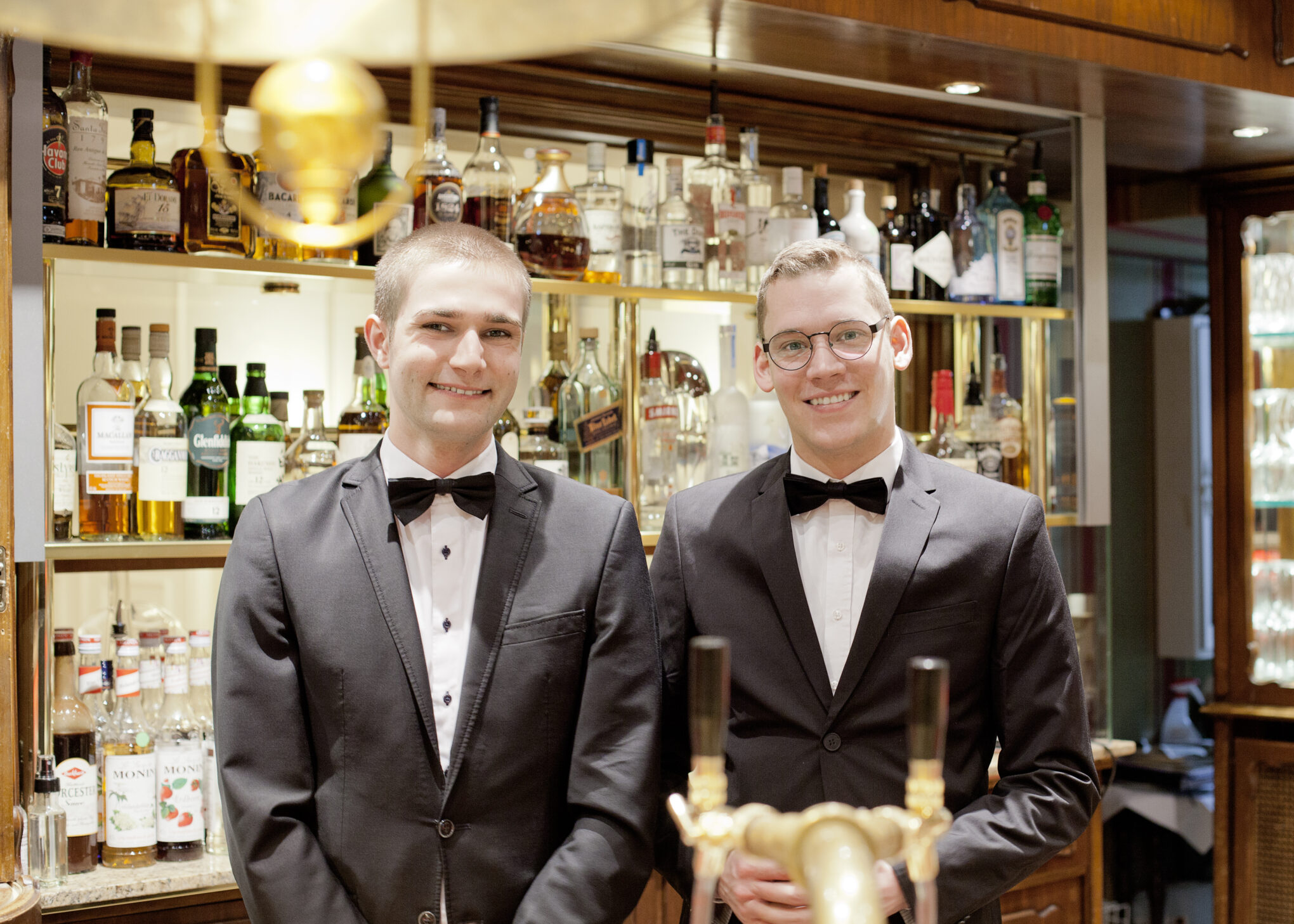 Mitarbeiter der Bar ©Europäischer Hof Hotel Europa Heidelberg GmbH