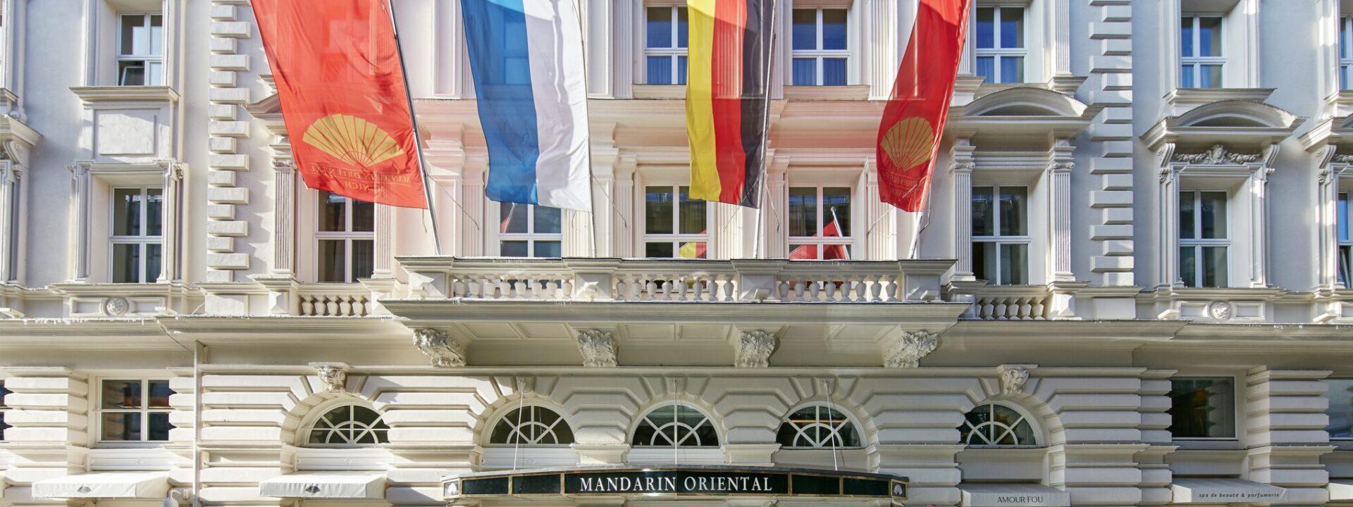 Mandarin Oriental Munich Außenansicht