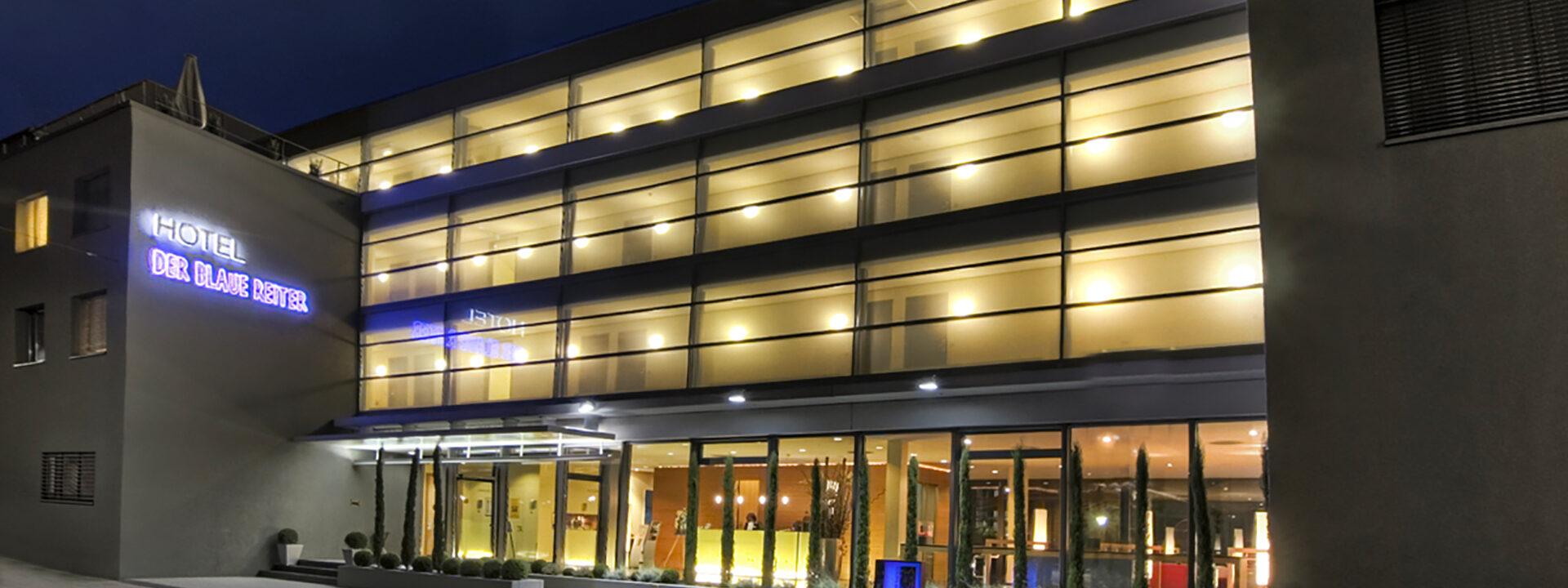 Hotel Der Blaue Reiter Karlsruhe Außenansicht