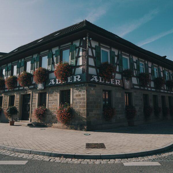 Hotel Adler Asperg Fasade