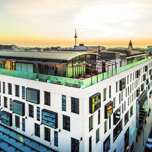 Radisson Blu Hotel Mannheim Aussenansicht