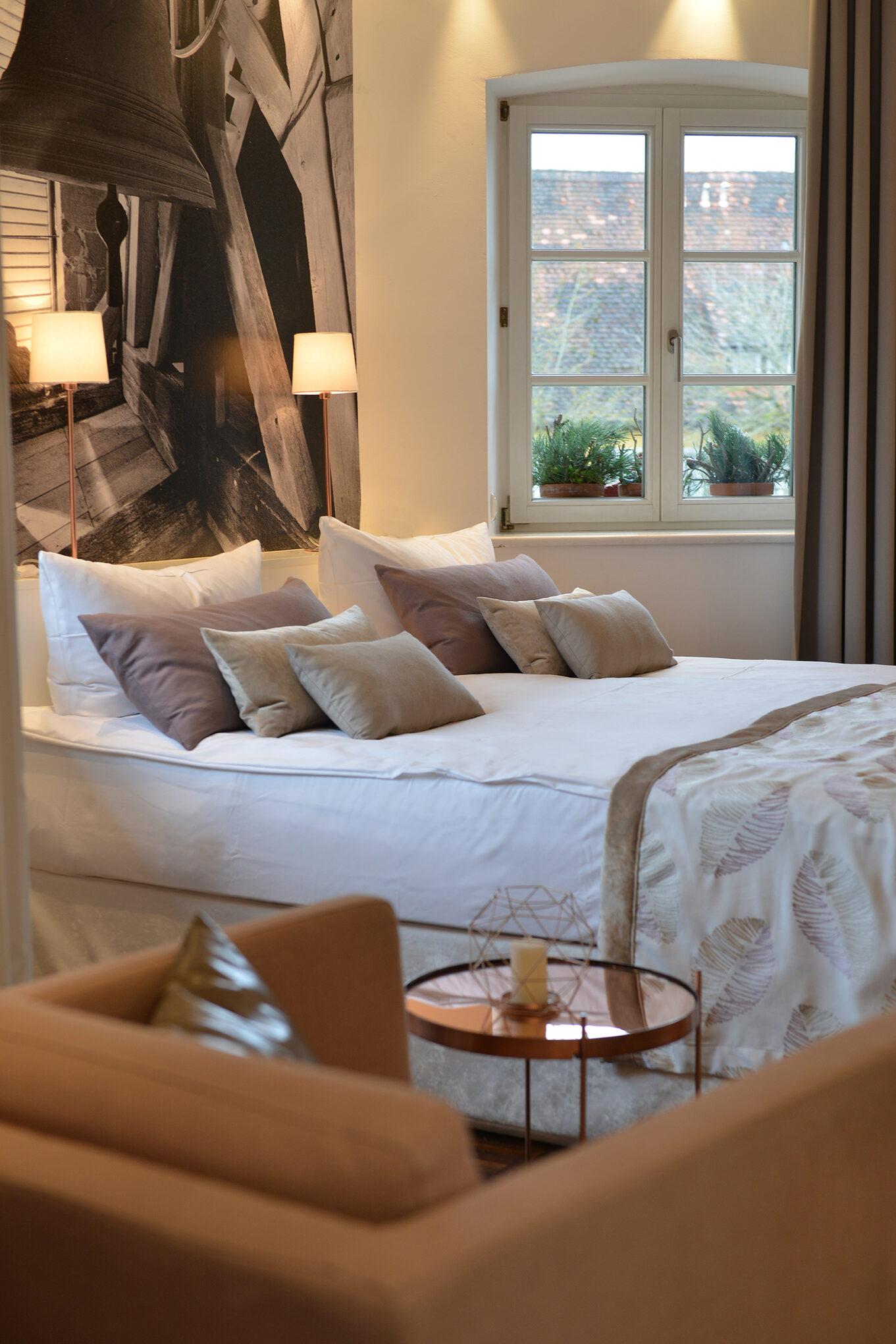 Villa Mittermeier Zimmer Bett