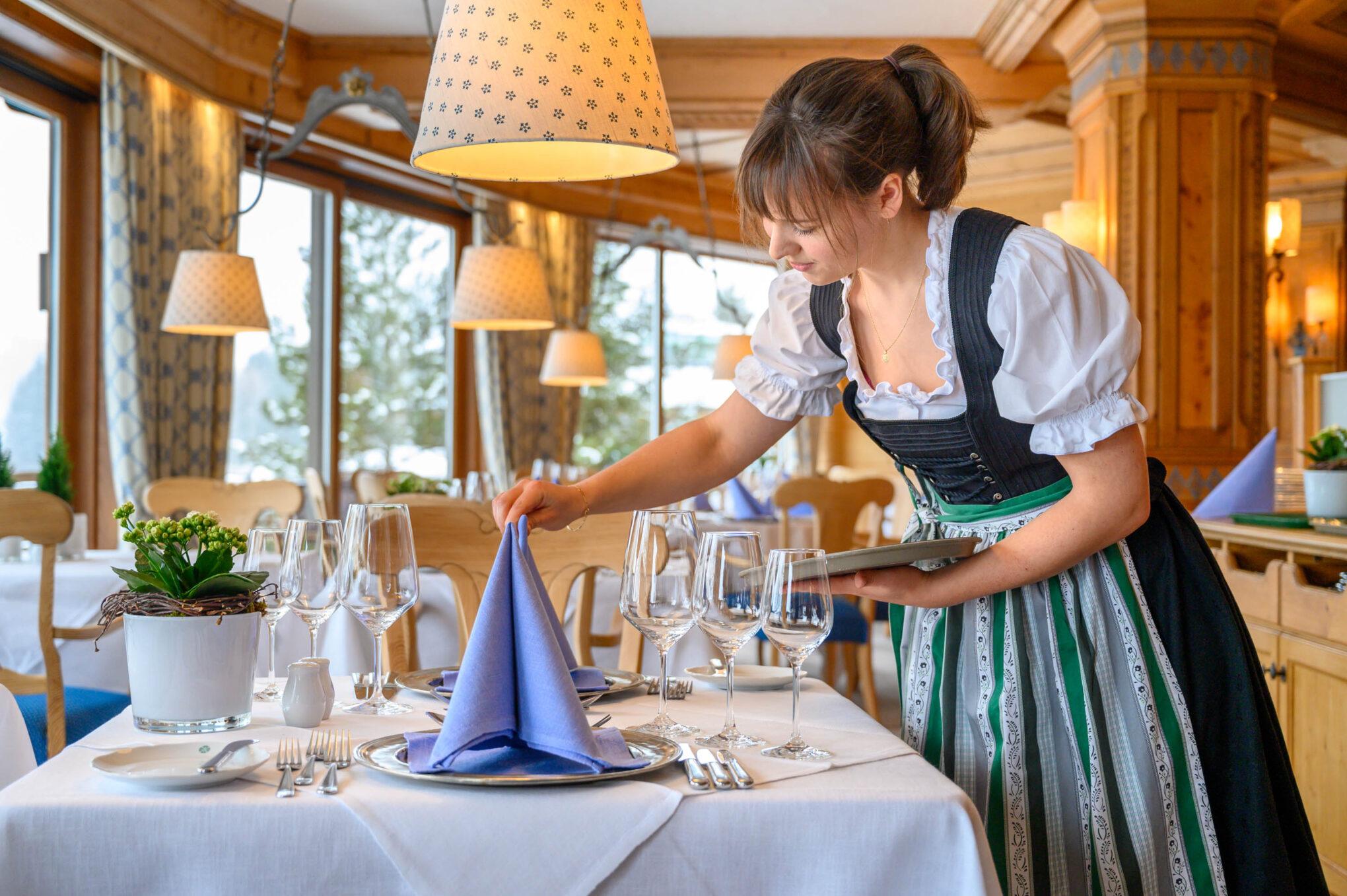 Sonnenalp Resort Restaurant